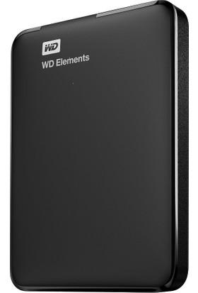 WD Elements 1TB 2.5' USB 3.0 Taşınabilir Disk (WDBUZG0010BBK-WESN)