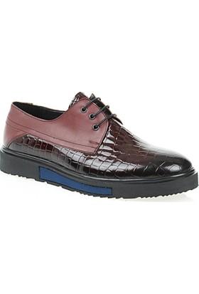Derigo Erkek Bordo Ayakkabı