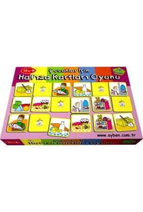 Ayben İle Terapötik Etkinlikler Çocuklar İçin Hafıza Kartları Oyunu
