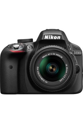 Nikon D3300 Af-P 18-55 Lensli Fotoğraf Makinesi