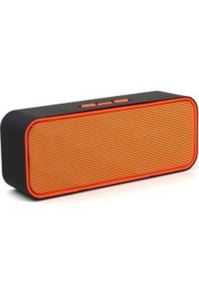Gesound Bluetooth Speaker Kablosuz Hoparlör Usb-Aux-Tf-Fm Mode Yüksek Bass Ses Çözünürlüklü Ses Bombası Sc-311