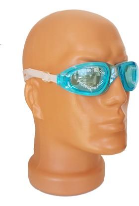 Filipp Deluxe Yüzücü Gözlüğü Silikon ( Özel Taşıma Kutulu ) Kulak Tıpaçı Hediyeli
