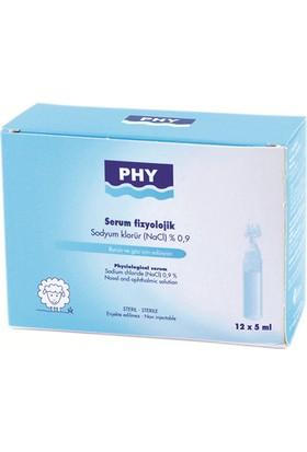 Mertkoz Kozmetik Phy Serum Fizyolojik 12 Flakon