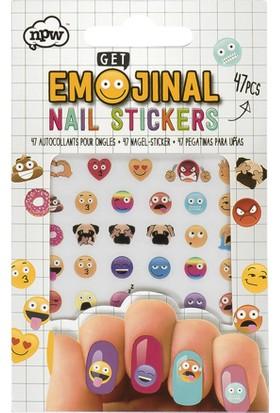 Tırnak Sticker - Emoji