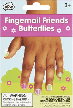 Tırnak Sticker - Kelebekler