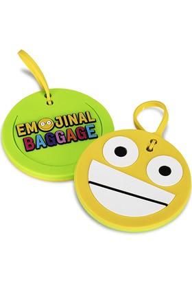 Bavul Etiketi - Emoji