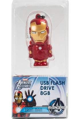 Tribe Marvel Estero Iron Man 8Gb Usb Bellek Fd016404A