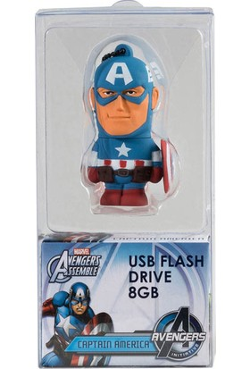 Tribe Marvel Estero Captain America 8Gb Usb Bellek Fd016401A