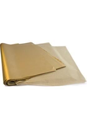 Menteşoğlu Kağıtçılık Altın Renkli Pelür Süs Kağıdı (1kg)