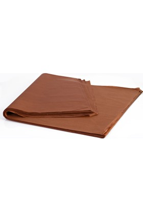 Menteşoğlu Kağıtçılık Kahverengi Pelür Süs Kağıdı (1kg)
