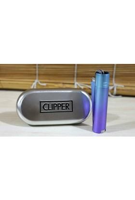 Clipper Metal Çakmak Buz Mavisi