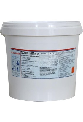 Selenoid Tablet Klor( % 90 Trıchılore Tablet) 10Kg