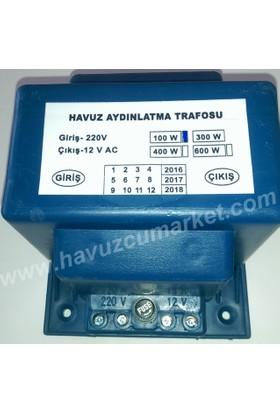 220/12 Volt 100 Watt Havuz Trafosu