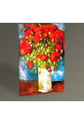 Tablo 360 Vincent Van Gogh-Poppies 1886 Tablo 30 x 20 cm