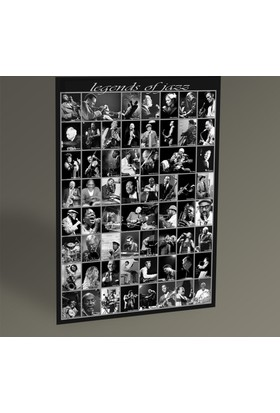 Tablo 360 Legends Of Jazz Tablo 30 x 20 cm