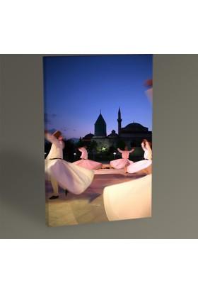 Tablo 360 Semazen Tablo 30 x 20 cm