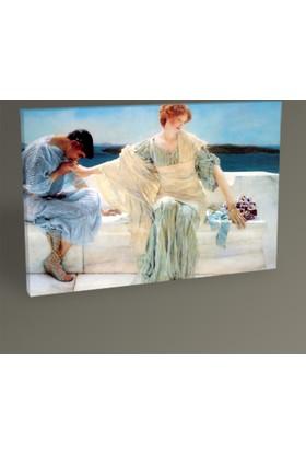 Tablo 360 Sir Lawrence Alma Tadema -Ask Me No More Tablo 30 x 20 cm