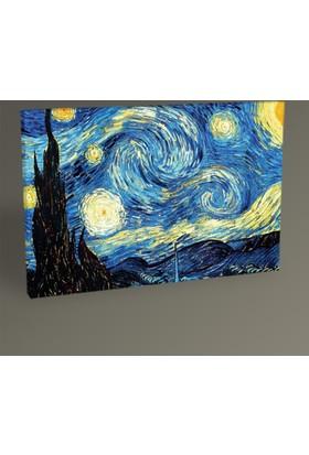 Tablo 360 Vincent Van Gogh-Yıldızlı Gece Tablo 30 x 20 cm