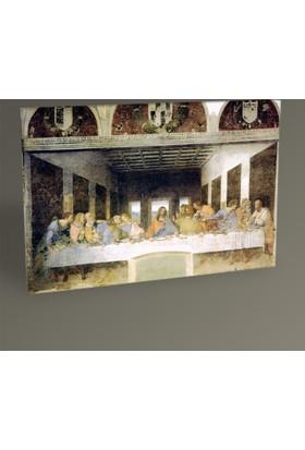 Tablo 360 Leonardo Da Vinci Son Akşam Yemeği Tablo 30 x 20 cm