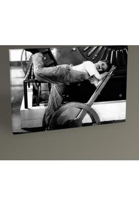 Tablo 360 Charlie Chaplin Tablo 30 x 20 cm