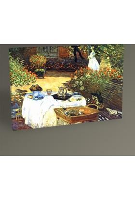 Tablo 360 Claude Monet Le Dejeuner Tablo 30 x 20 cm