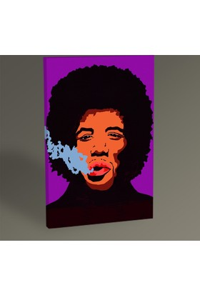 Tablo 360 Jim Hendrix Pop Art Tablo 30 x 20 cm