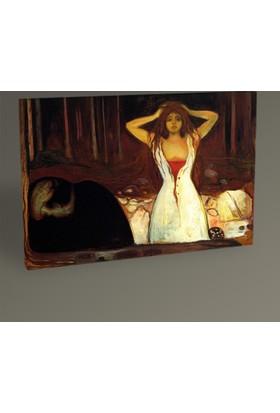 Tablo 360 Edvard Munch Ashes Tablo 30 x 20 cm