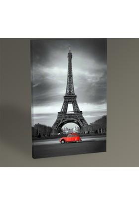 Tablo 360 Paris Red Car Tablo 30 x 20 cm