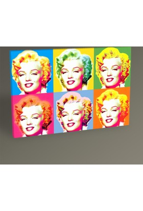 Tablo 360 Marilyn Monroe Pop Art Tablo 30 x 20 cm
