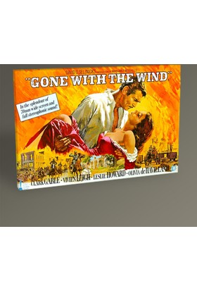 Tablo 360 Gone With The Wind Tablo 30 x 20 cm