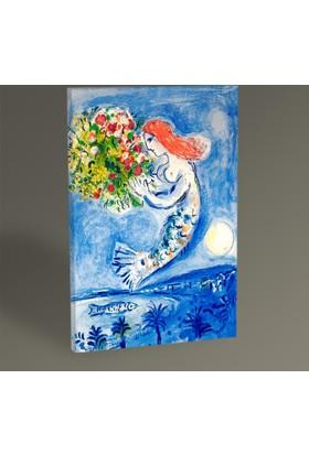 Tablo 360 Marc Chagall La Baie Des Anges 30 x 20 cm