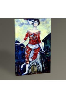 Tablo 360 Marc Chagall The Acrobat Tablo 30 x 20 cm