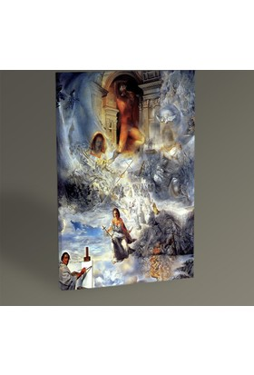 Tablo 360 Salvador Dali The Ecumenical Council 30 x 20 cm