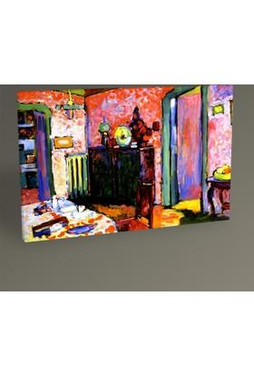 Tablo 360 Wassily Kandinsky Interior 30 x 20 cm