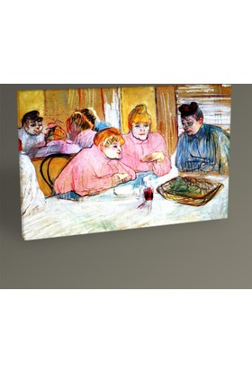 Tablo360 Henri De Toulouse- Lautrec Women İn A Brothel 30 x 20 cm
