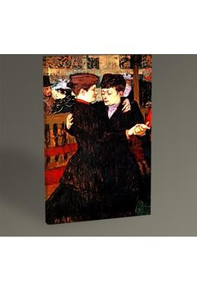 Tablo360 Henri De Toulouse- Lautrec Two Women Dancing 30 x 20 cm