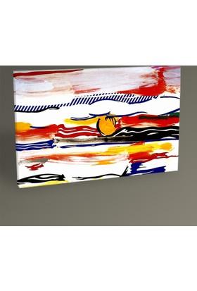 Tablo360 Roy Lichtenstein Sunrise Tablo 30 x 20 cm