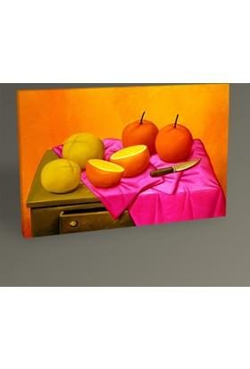 Tablo360 Fernando Botero Portakallar Tablo 30 x 20 cm