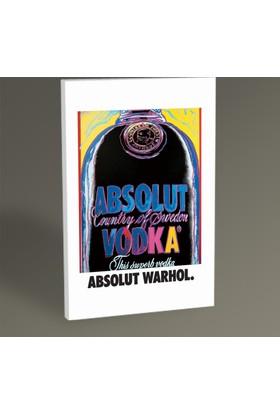 Tablo360 Andy Warhol Absolt Tablo 30 x 20 cm
