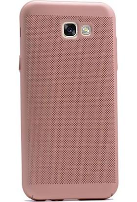 KılıfShop Samsung Galaxy A7 2017 Delikli Rubber Kılıf