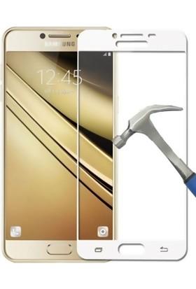 KılıfShop Samsung Galaxy C9 Pro Ekranı Tam Koruyan Ekran Koruyucu