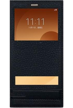 KılıfShop Samsung Galaxy C9 Pro Pencereli Kılıf