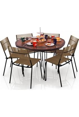 Purupa Kütük Yemek Masası