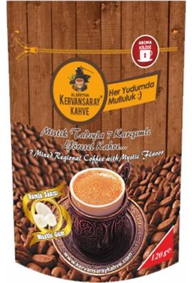 Kervansaray Elbistan Kervansaray 7 Karışımlı Yöresel Kahve Damla Sakızlı Kahve 120 Gr x 1 Adet