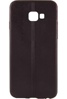 Sunix Vizyonmobil Samsung Galaxy A7 2017 Dikişli Silikon Kılıf + Jelatin