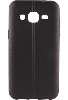 Sunix Vizyonmobil Samsung Galaxy J2 Dikişli Silikon Kılıf + Jelatin