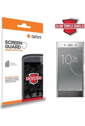 Dafoni Sony Xperia XZ Premium Slim Triple Shield Ekran Koruyucu