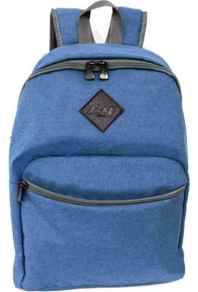 """M&W Work & Sport SRT-K1 15.6"""" Mavi Laptop & Tablet Sırt Çantası"""
