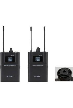 Acemic Dv-100 Yaka Wireless Camera Microphone System