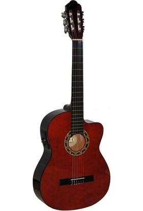 Carissa Cg-160Ce Nat Elektro Klasik Gitar